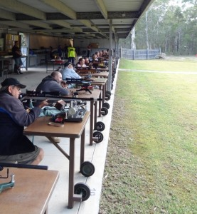 Benchrest shooting